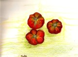 tomato by Tochi, Illustrations->Traditional gallery