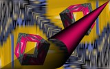 Box Kite Finagle by Flmngseabass, abstract gallery