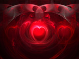 Hearts by razorjack51, Abstract->Fractal gallery