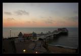 Cromer pier at sunset by JQ, Photography->Shorelines gallery