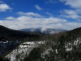 Above Kaaterskill Falls With Snow by Jims, photography->mountains gallery