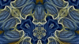 Pinstripe Blues by Flmngseabass, abstract gallery