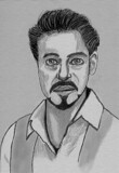 Robert Downey Jr by bfrank, illustrations gallery