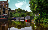 Skipton Canal 2 by biffobear, photography->boats gallery