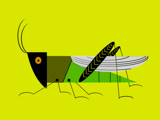 Honorable Grasshopper by bfrank, illustrations gallery
