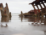 Wreck of the Peter Iredale by hamellr, photography->shorelines gallery