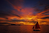 Red sails in the sunset by biffobear, photography->sunset/rise gallery