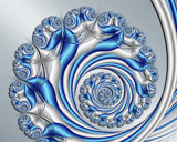 Silver Swirl by Frankief, Abstract->Fractal gallery