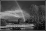November Rainbow In B&W by corngrowth, contests->b/w challenge gallery