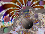 Playground For Planets by Flmngseabass, abstract gallery