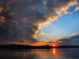Susquehanna River Sunset by krona, Photography->Sunset/Rise gallery