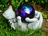 """Garden Kitty with a Shiny Ball"" by icedancer, photography->general gallery"
