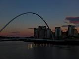 Millenium Sundown by biffobear, photography->bridges gallery