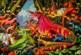 Colorful reptiles by carlosf_m, illustrations gallery