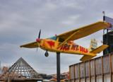 Plane On A Pole 3 by Jimbobedsel, photography->aircraft gallery