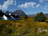 Glen Coe Cottage.. by biffobear, photography->landscape gallery