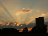 Silo's At Sunset by JEdMc91, Photography->Sunset/Rise gallery