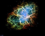 Crab Nebula Mosaic by camerahound, space gallery