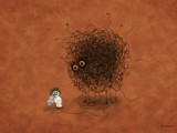 Looking for Higgs Boson by vladstudio, illustrations->digital gallery