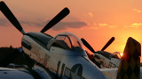P-51 sunset by ted3020, Photography->Aircraft gallery