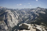 Tenaya Creek Canyon from Half Dome by whttiger25, Photography->Landscape gallery