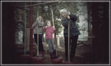 Three on a Swing by Flmngseabass, photography->action or motion gallery