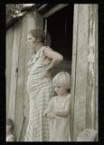Wife and child of a sharecropper by rvdb, photography->manipulation gallery
