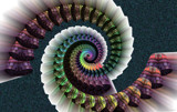 Viral Spiral by Flmngseabass, abstract gallery