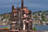 Gasworks 2 by DigiCamMan, photography->manipulation gallery