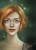 Those Eyes - Rework by PrettyFae, illustrations->digital gallery