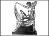Art Deco Figurine by Papi11on, Illustrations->Traditional gallery