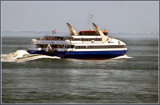 Passing Fast Ferry by corngrowth, photography->boats gallery