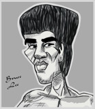 Bruce Lee by bfrank, illustrations gallery