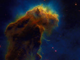 The Eagle Nebula by NASA, space gallery