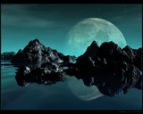 Moonrise by ryzst, Computer->Landscape gallery