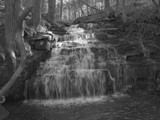 Cascade of black and white by rossic, Photography->Waterfalls gallery