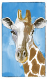 Jerry Giraffe by bfrank, illustrations gallery