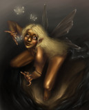 Watching the Night Flies by PrettyFae, Illustrations->Digital gallery