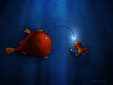 Anglerfish by vladstudio, Illustrations->Digital gallery