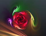 Rosered by Frankief, abstract gallery