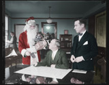 Santa Claus receives aeroplane pilot's license by rvdb, photography->manipulation gallery