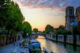 Seine Sunset by gr8fulted, photography->sunset/rise gallery