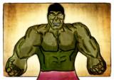 Hulk by bfrank, illustrations gallery