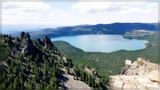 Lake Paulina From Paulina Peak by Flmngseabass, photography->landscape gallery