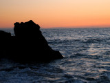 Sunset on the Rocks by kimcande, Photography->Shorelines gallery