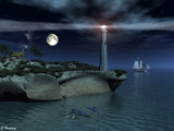 The lighthouse by Junglegeorge, Computer->Landscape gallery