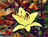 Stained Glass Lily by trixxie17, photography->flowers gallery