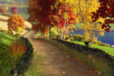 Autumn in the Glen by Akeraios, computer->landscape gallery