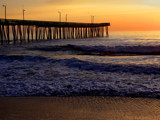 virginia beach pier at sunrise by jeenie11, Photography->Sunset/Rise gallery