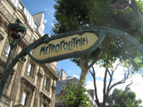 Metropolitain Sign in Paris by laangels, Photography->Transportation gallery